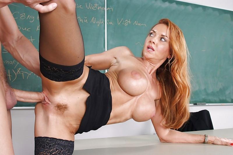 Секс С Учительницей