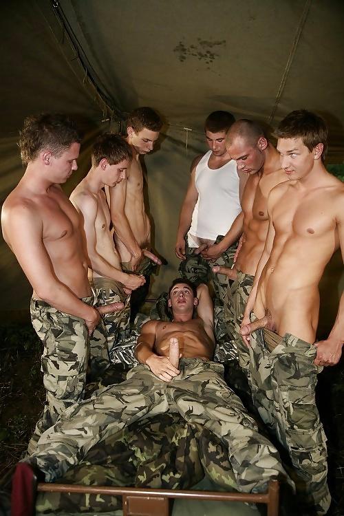 Гей Порно Солдаты