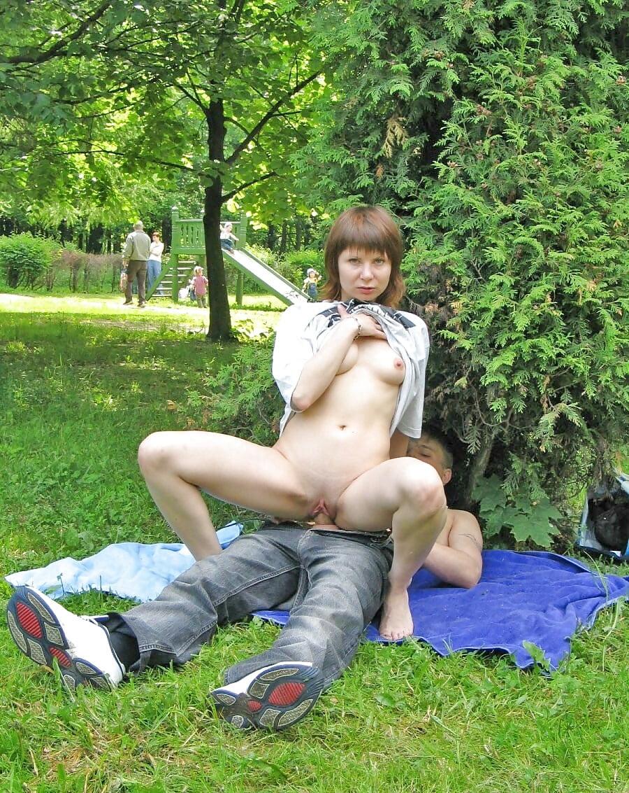 Секс В Парке