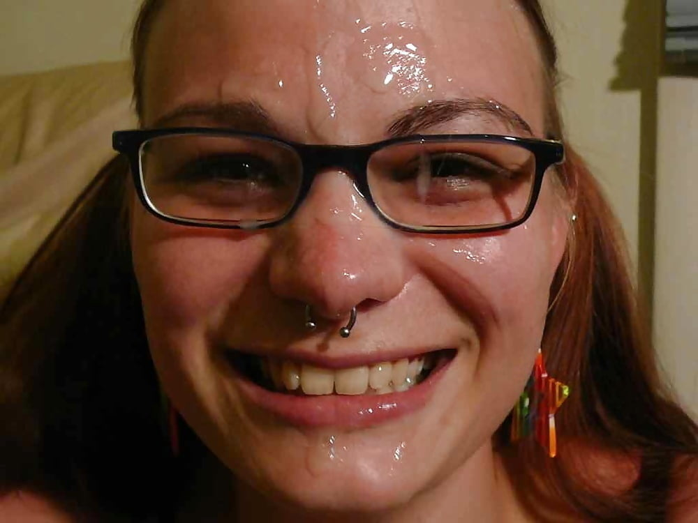 Of cum splattered stacy face
