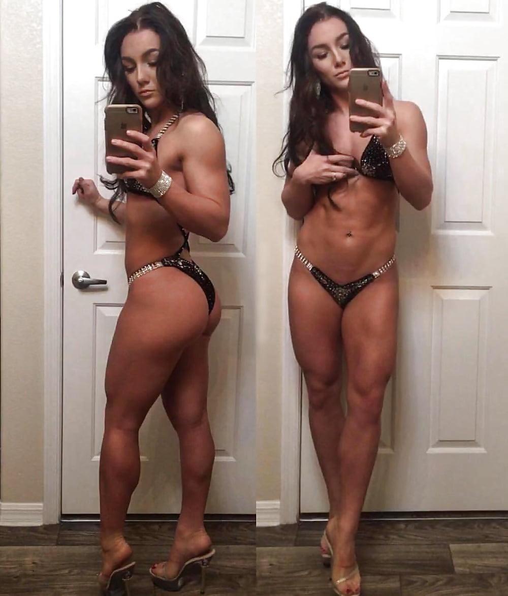 Nudist girls gym workout