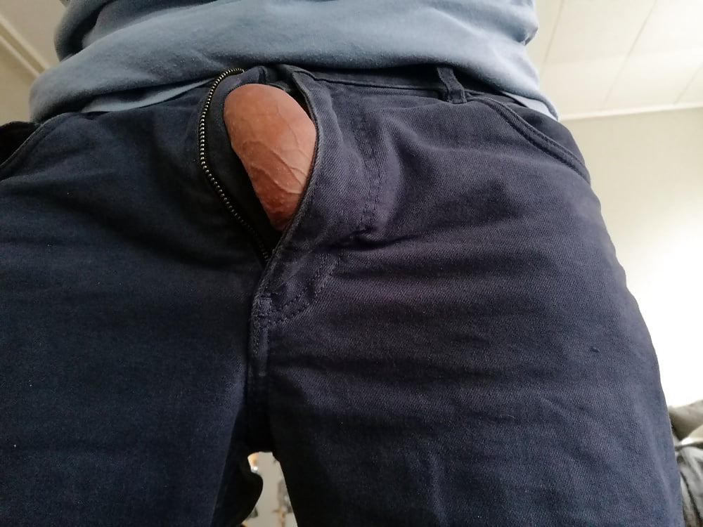Seeing your penis through your pants