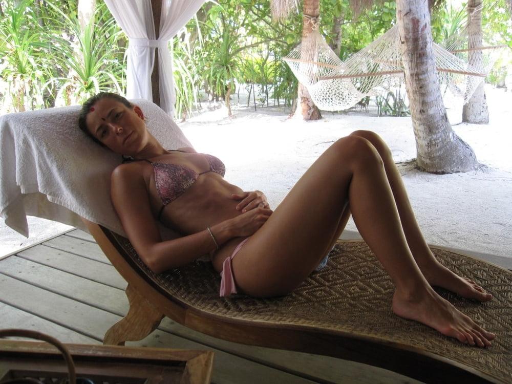 Amateur natural huge tit video