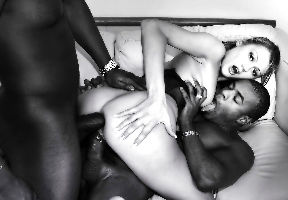 Monster black and white interracial sex pics