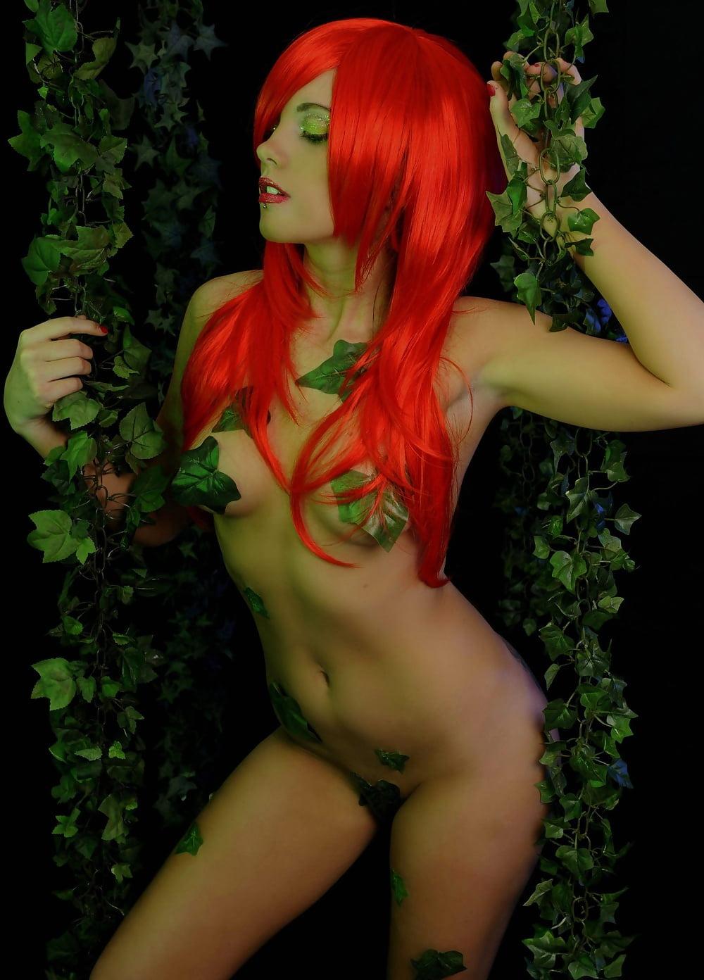 Poison ivy flirty gif