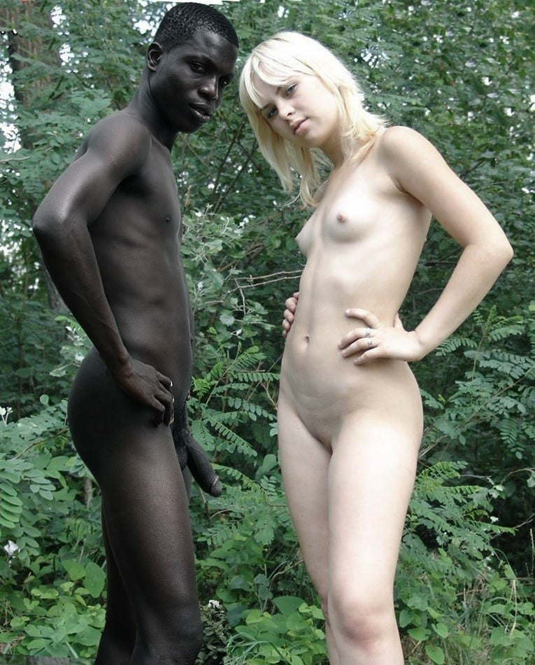 White men black girls naked — 6