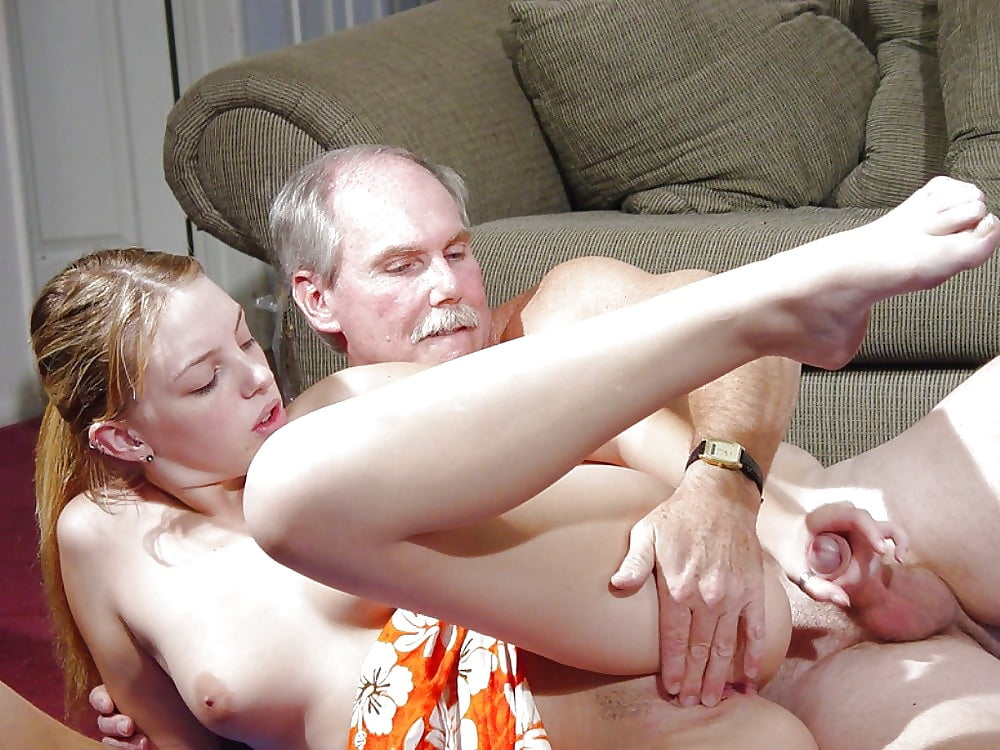 Redhead Teen Pussy Toyed And Nailed By Old Men