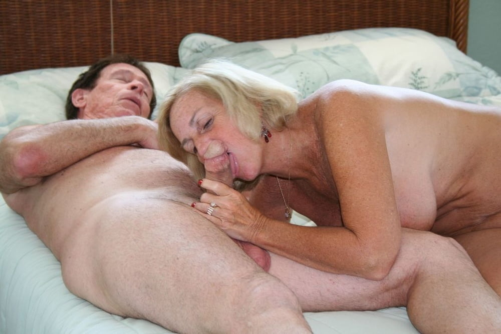 Naked Granny On Bed