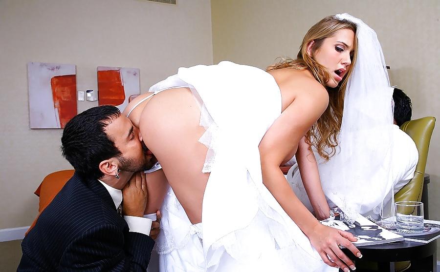 красивый кунилингус невесте
