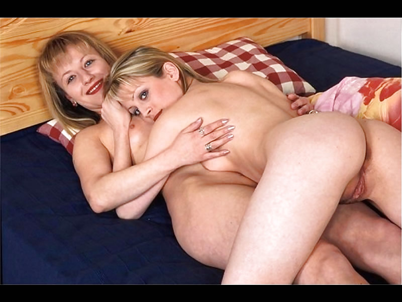 Mother and daughter fuck delivery man