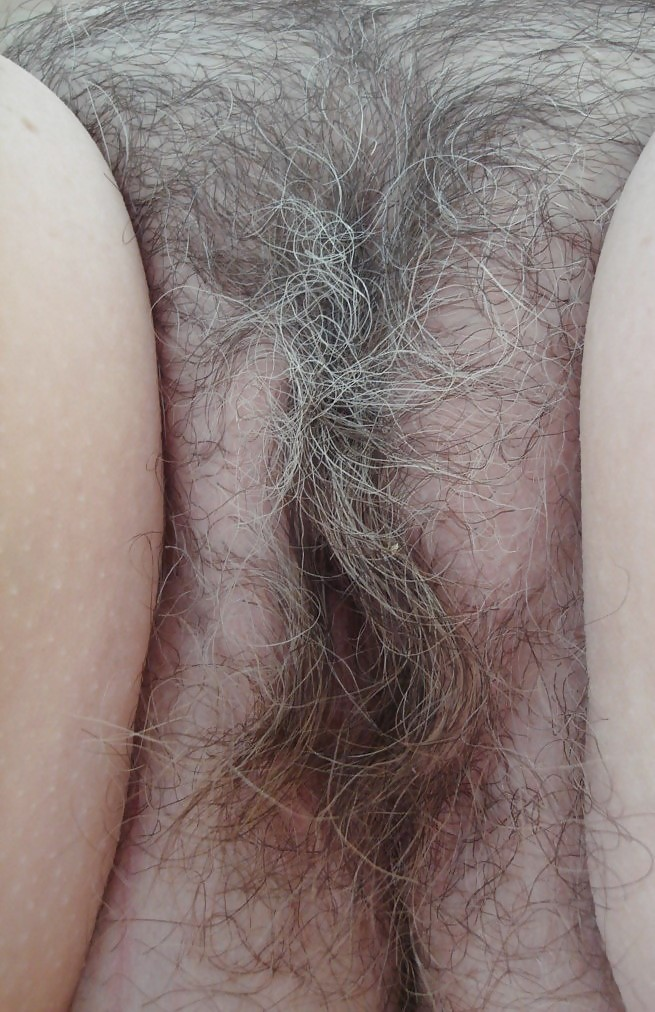 Grey hairs on pussy and the
