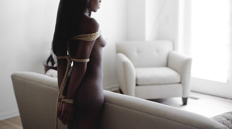 Beautiful naked ebony