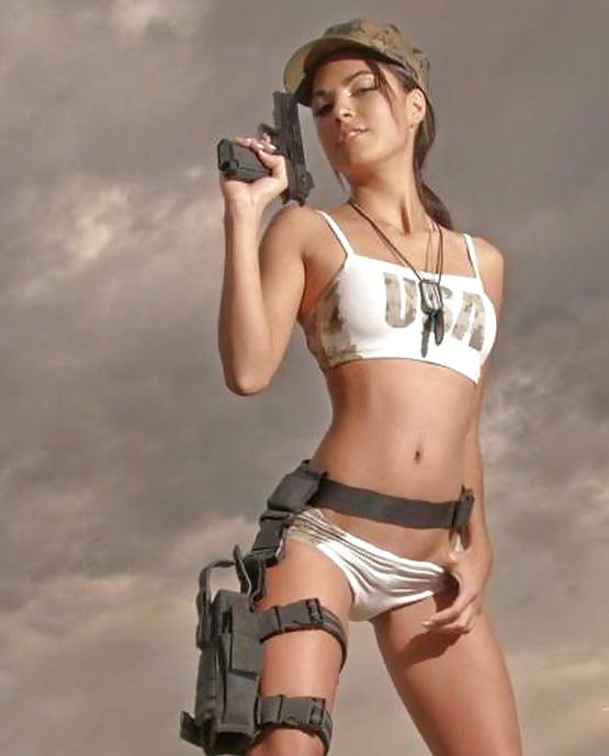 Shemale video army women girls nude
