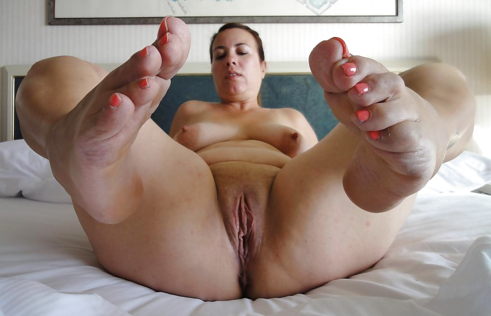 Milf Feet Tickling Stocks