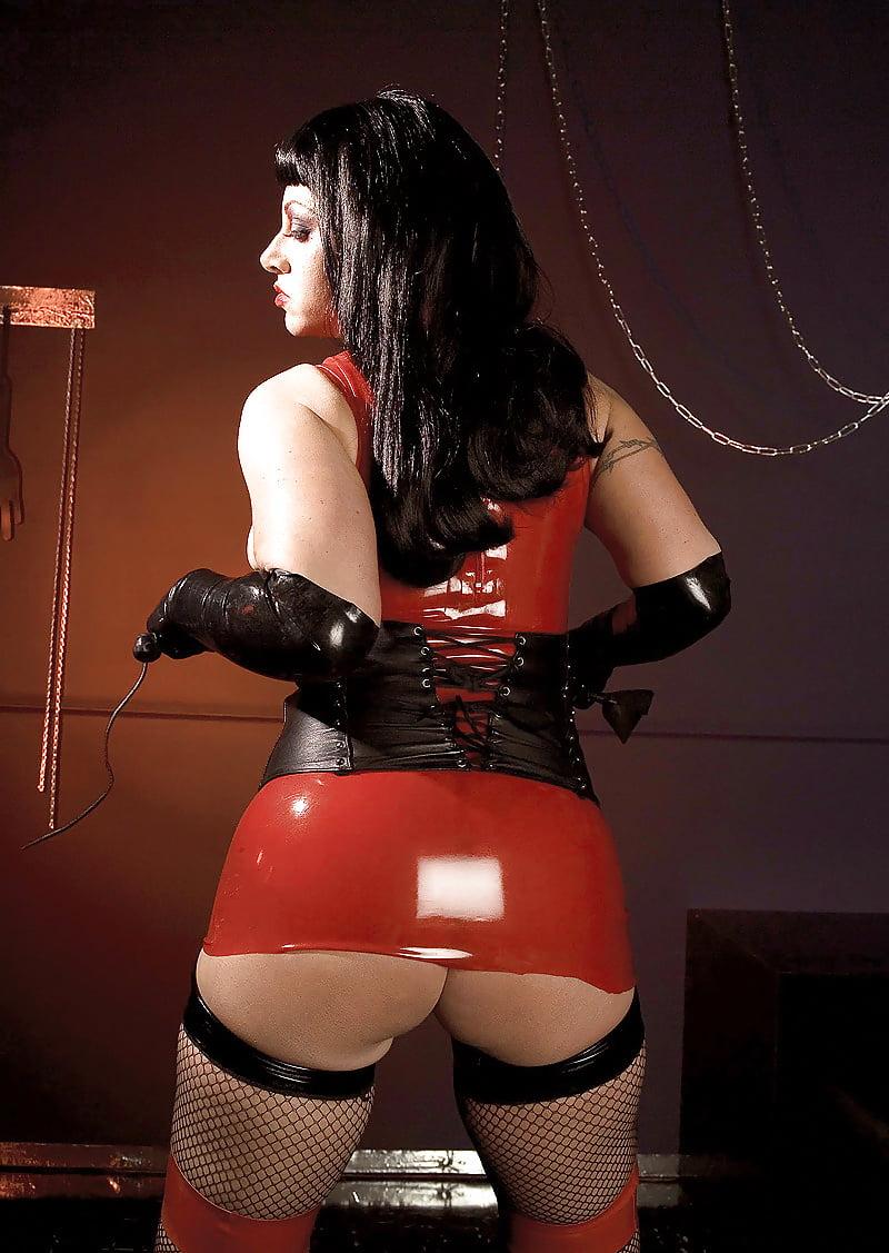 Mature mistress red