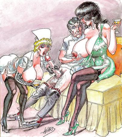 bill ward Homo erotic art