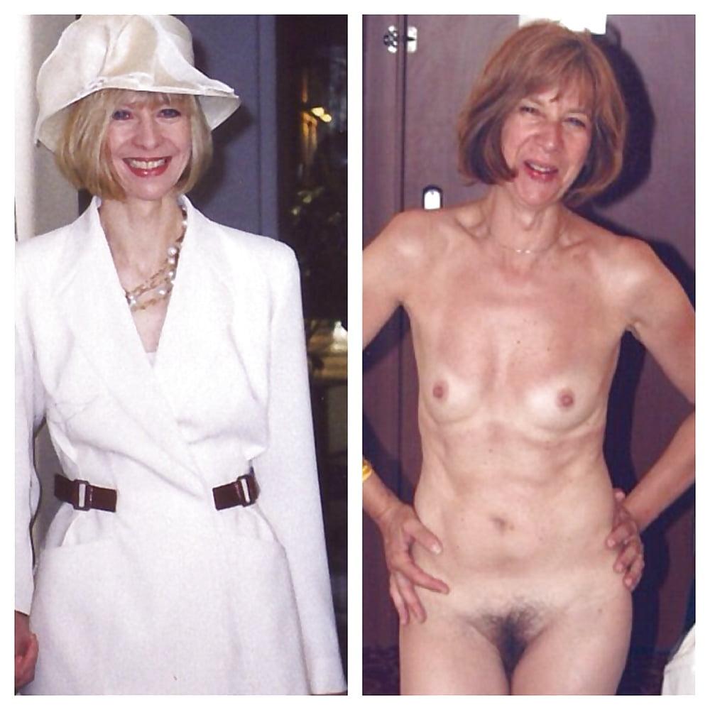 Older women caught naked-5321