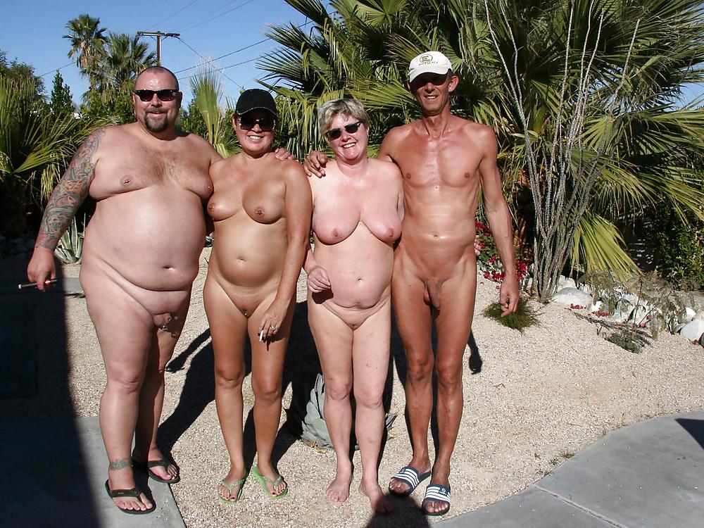 Mature nudist fun