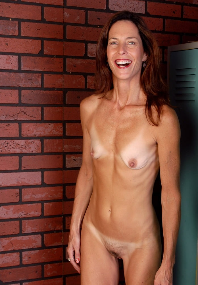 Sex milf flat chest