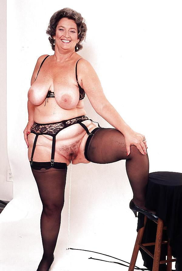 Busty grannies naked
