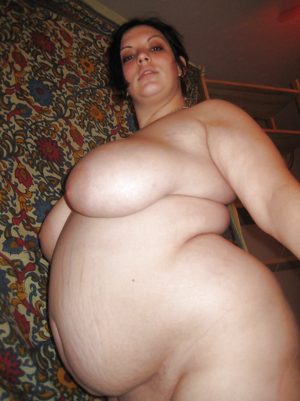 Big belly naked girl — photo 5