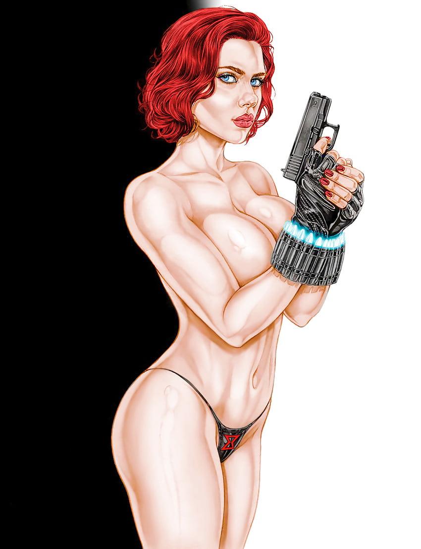 Nude actress comics — photo 15