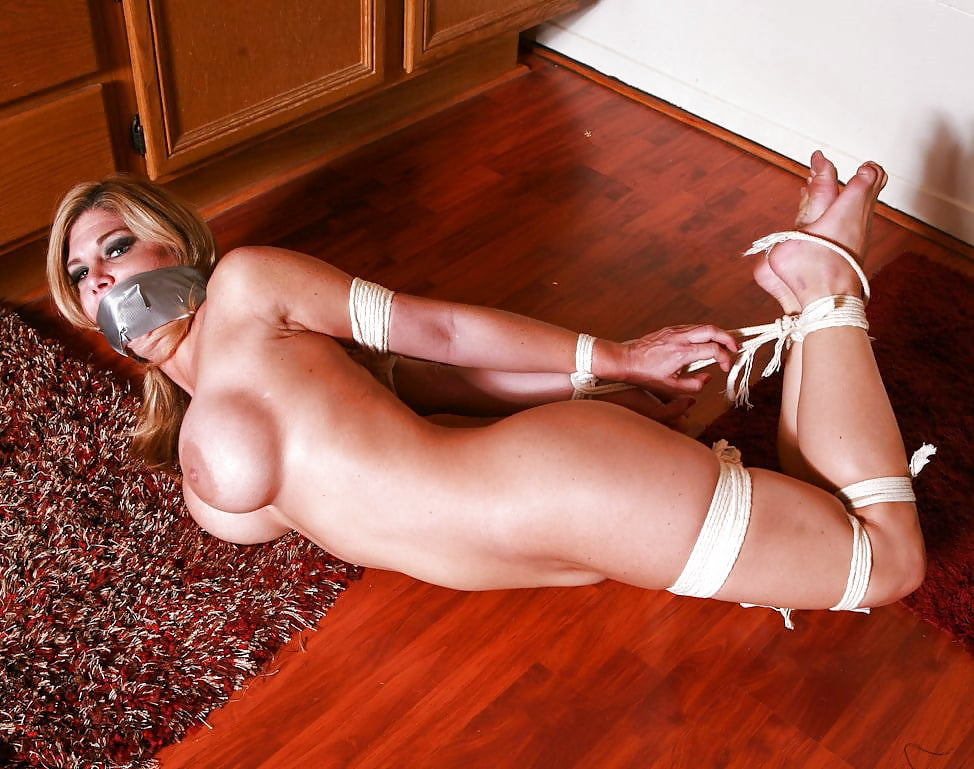 Tied up texas milf
