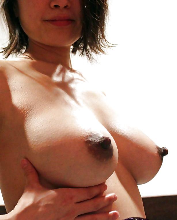 Asian big nipple