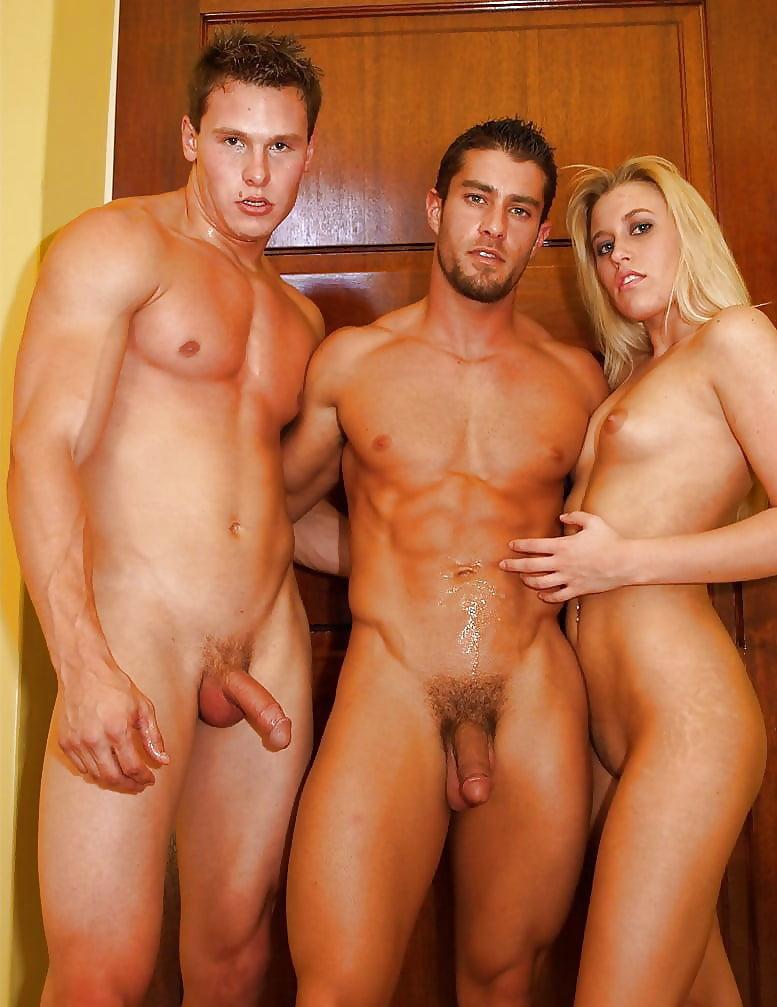 A Man Having Naked Sex