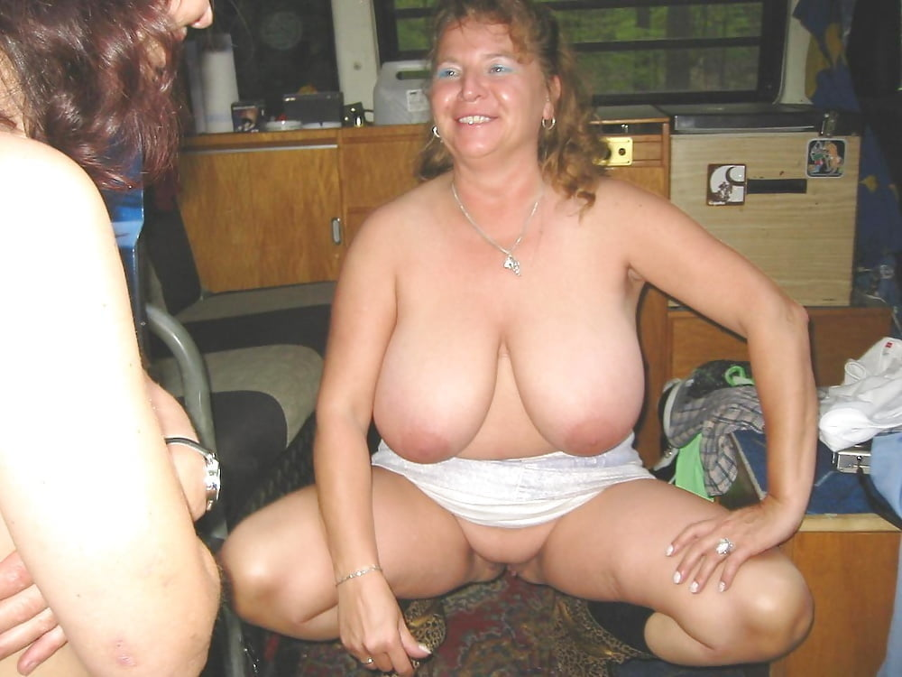 Fat and flabby older white women pt 2