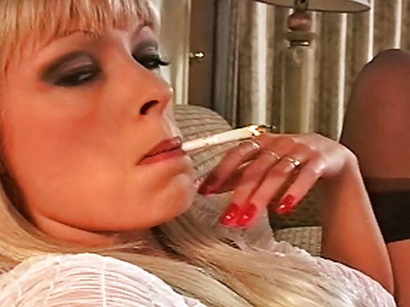 Sexy male smoking fetish
