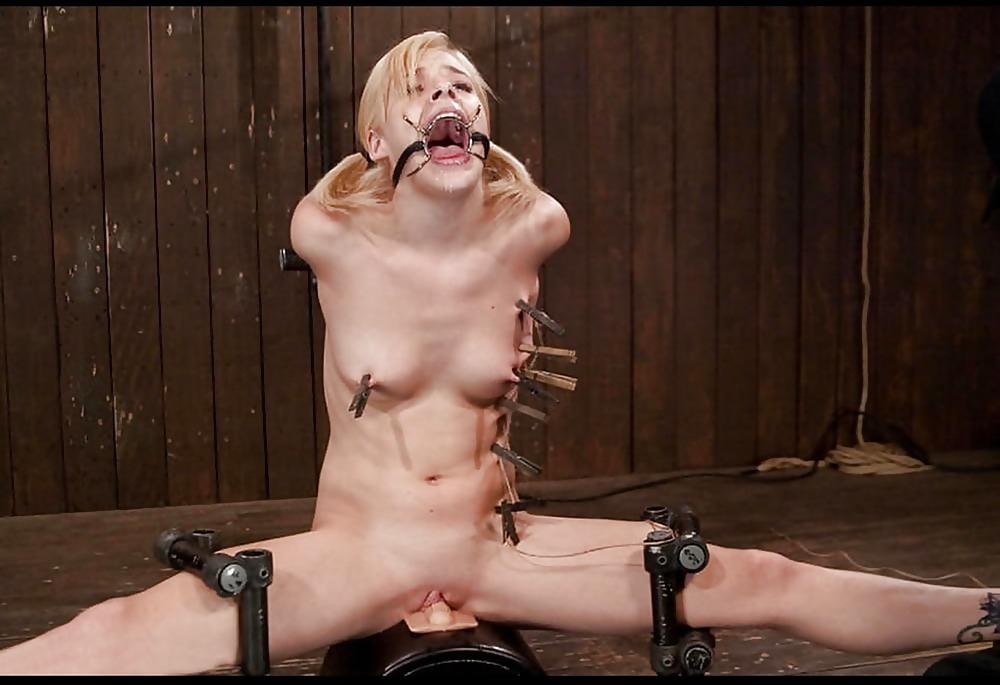 Watch bonnie rotten sybian bondage orgasm