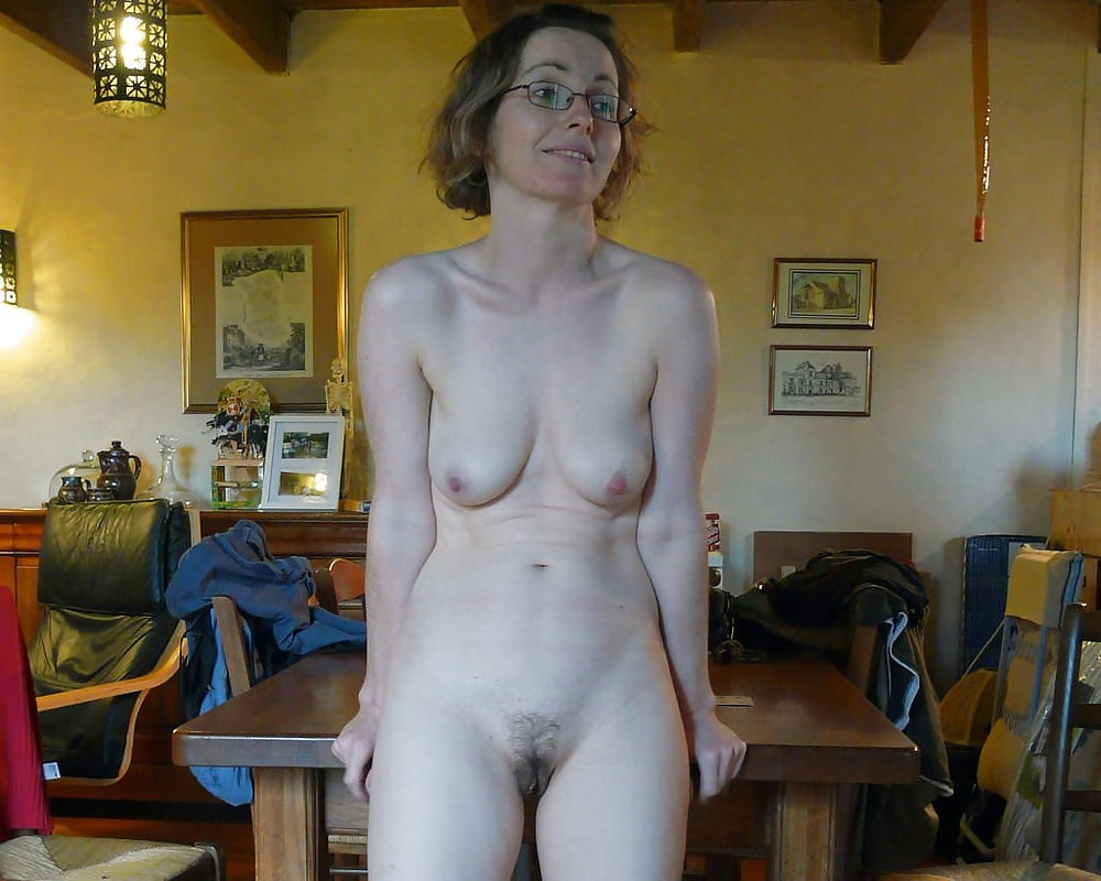 Nude glasses amature