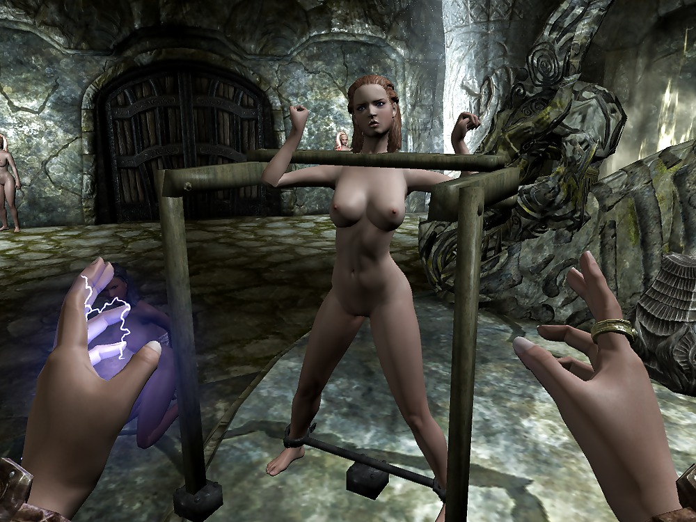 Elisif nude and helpless in skyrim pt8 - 1 part 4