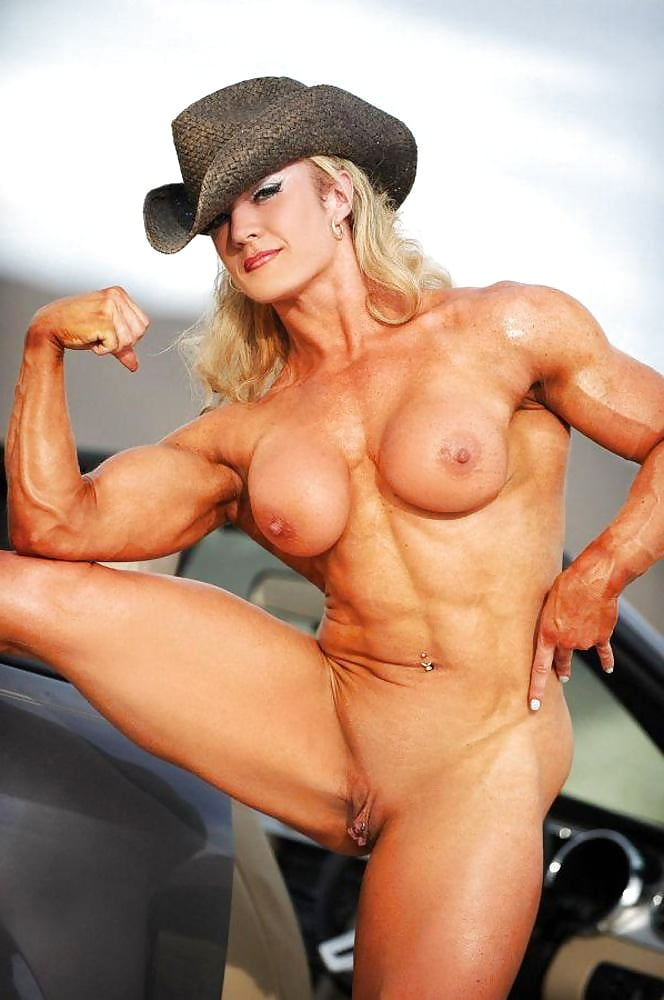 Muscular naked girls, bodybuilders fetish