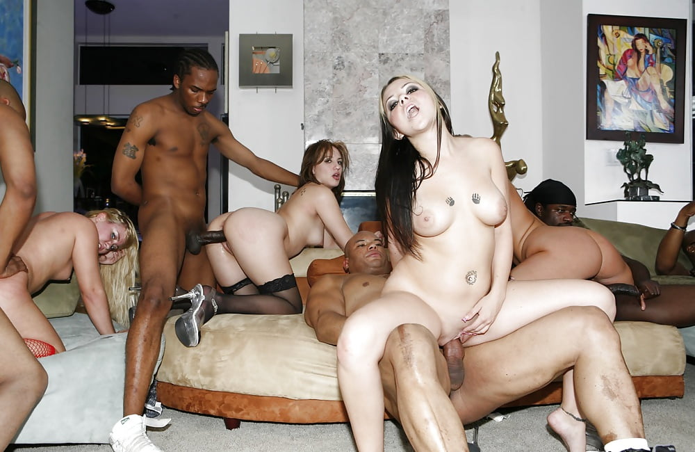 Pussy black married orgy girls