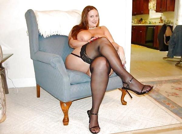 Bbw Crossed Legs Pantyhose PlusOne8 1