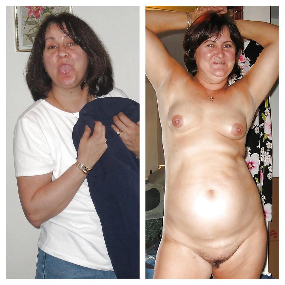 Older women caught naked-2318