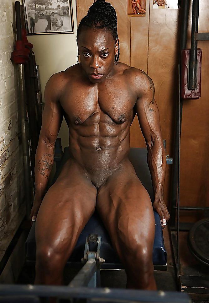 Black male athlete nude photos