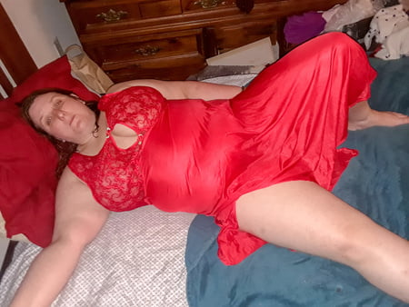 red dress and sexy panties