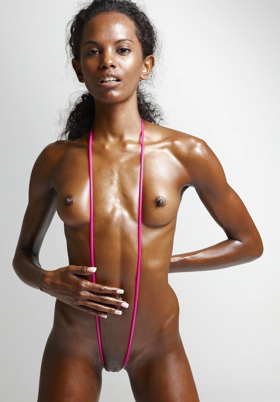 women Nude hot black