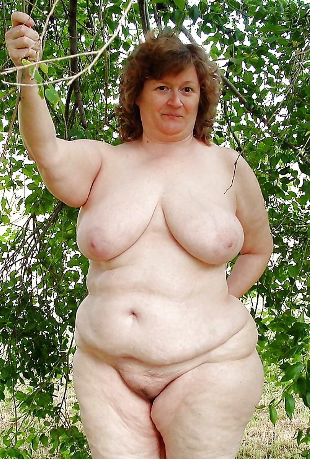 старые толстые голые женщины