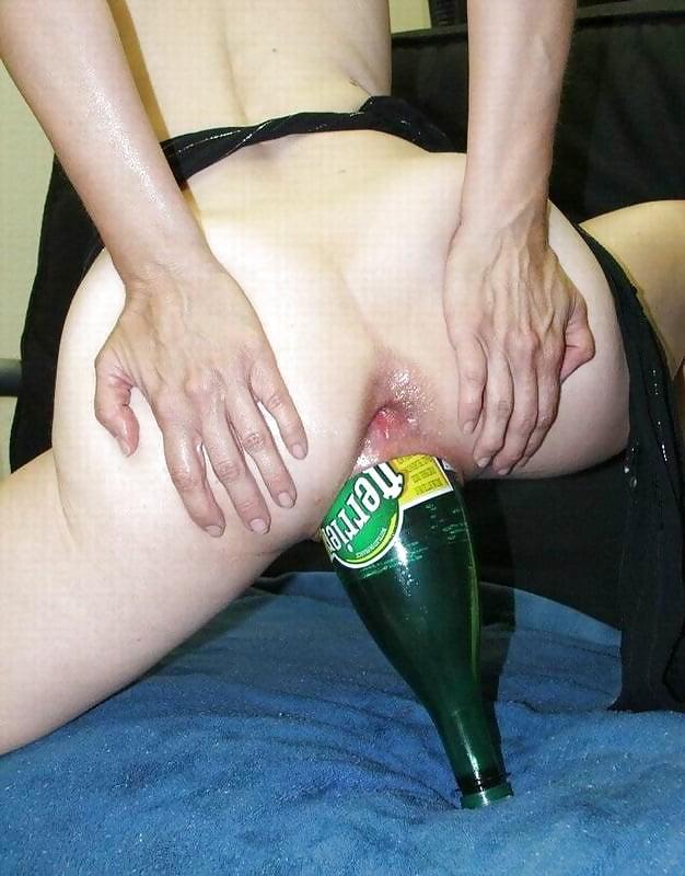 Огромное бутылка во влагалище фото — img 10