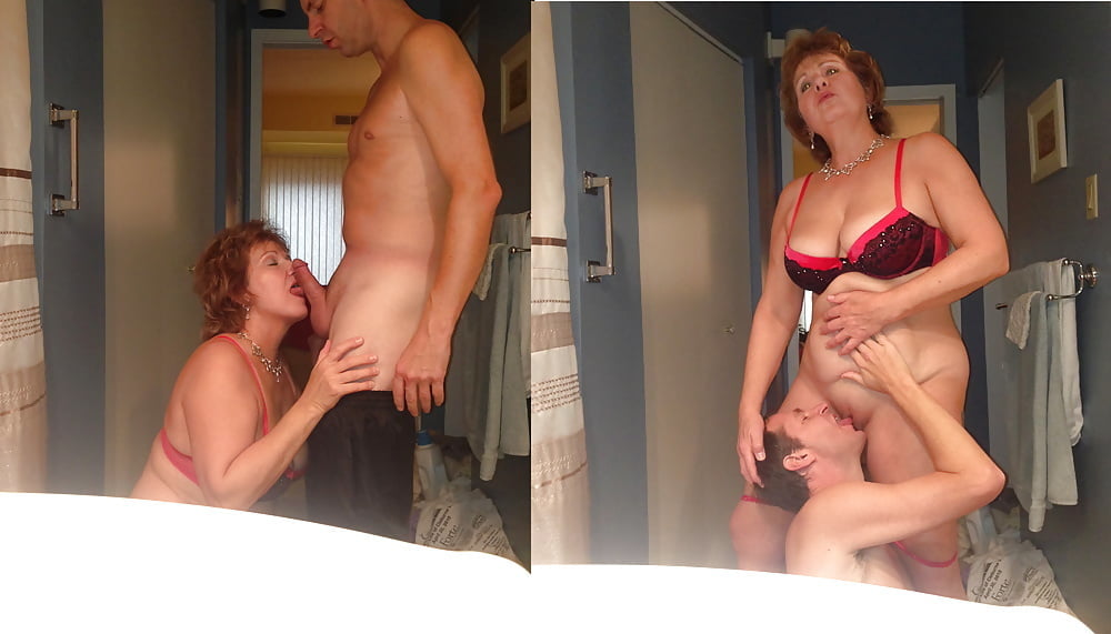 Mom fucking her son in a girdle