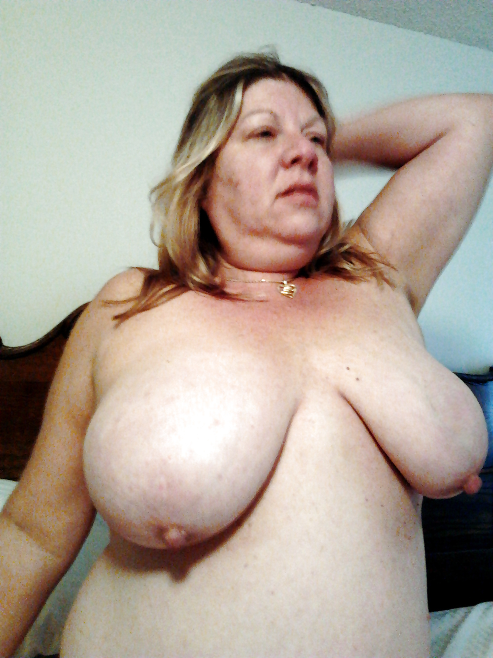 Big saggy tits bbw wife marie