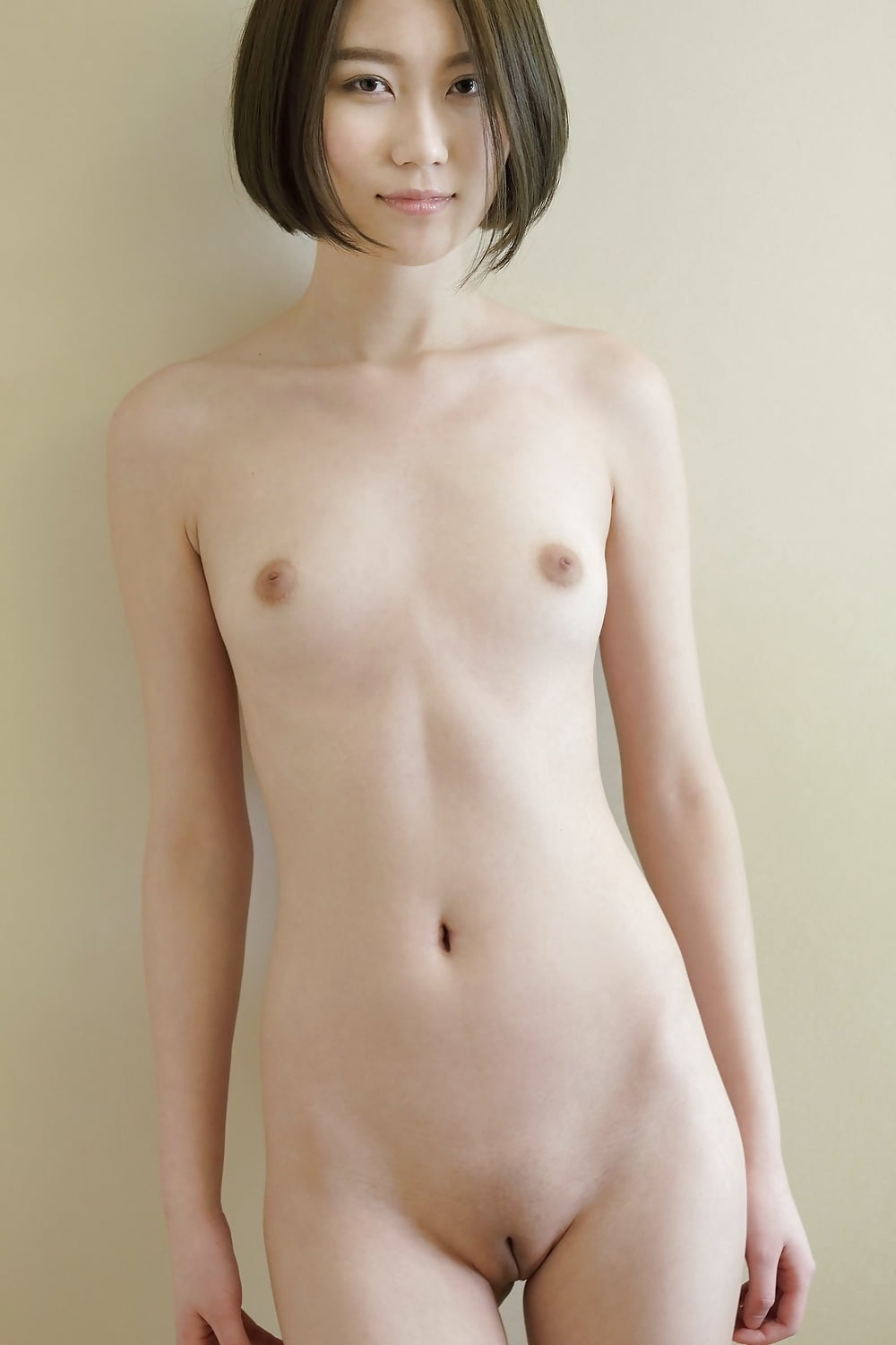 Naked shaved asians