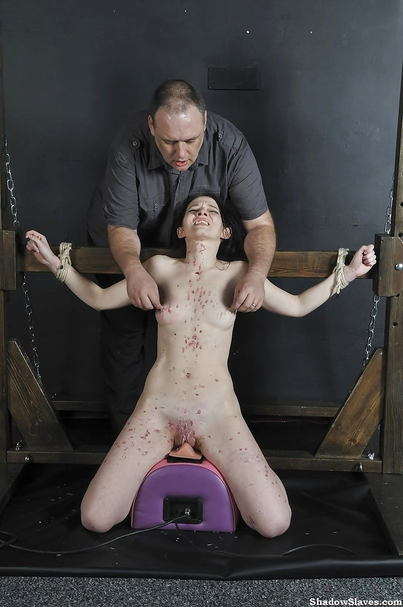 Anal torture crying loudly hd