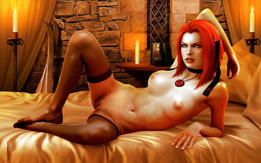 Naked bloodrayne playboy nude