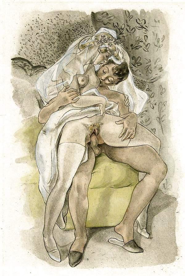 Vintage incest erotic art