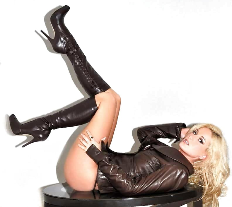 Girl boots leather sexy slut 8